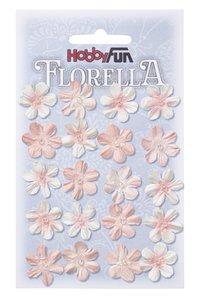 Florella Paper Flowers Blüten zart-rosa, 2cm