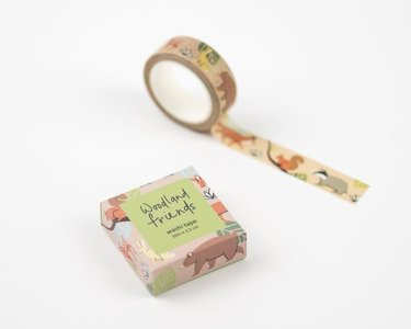 Woodland Animals Washi Tape by Mila Made