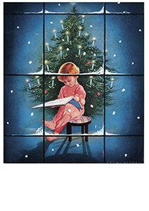 Postcard   Jan Lavies - omslag kerstnummer
