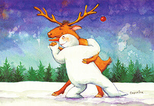 Postcard   Capuzine Mazille - Dansje