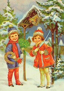 Postcard   Prentbriefkaart, ca. 1930