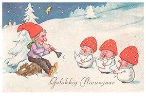 Postcard | Gelukkig nieuwjaar