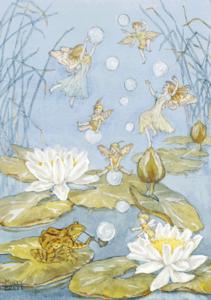 Postcard Molly Brett | Catch a Bubble