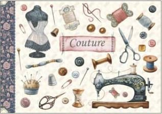 Illustrated notebook Gwenaëlle Trolez Créations - Couture