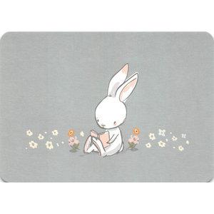 Postcard Gutrath Verlag | Reading Bunny