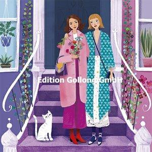 Mila Marquis Postcard   Two Women