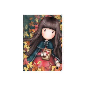 Gorjuss - A6 PVC Cover Notebook - Autumn Leaves