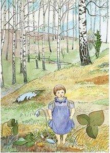 Elsa Beskow Postcard   Blasippan