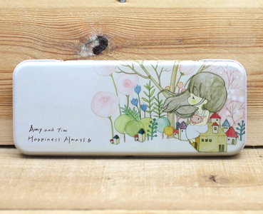 Amy and Tim Tin Pencil Case