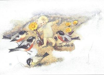Postcard Mili Weber - Early Spring