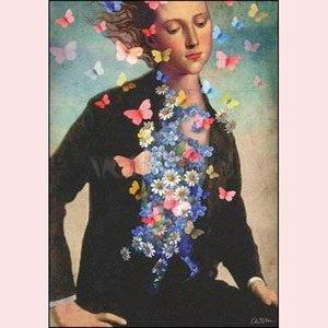 Postcard Catrin Welz-Stein - Spring awakening