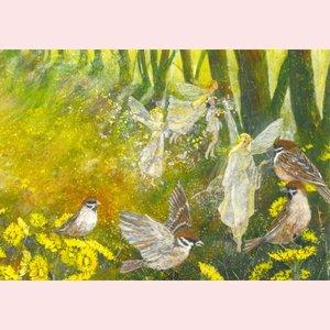 Postcard Daniela Drescher | Frühlingsfreuden