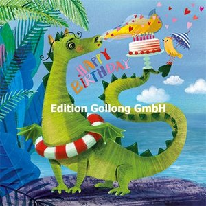 Mila Marquis Postcard   Happy Birthday (Dragon)