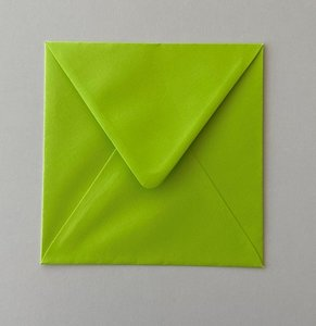 Envelope 145x145 - May green