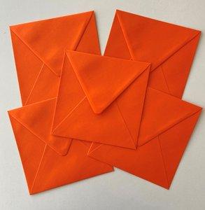 Set of 5 Envelopes 145x145 - Orange