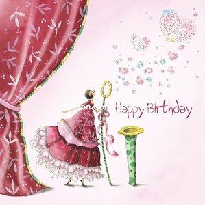 Nina Chen Postcard | Happy birthday