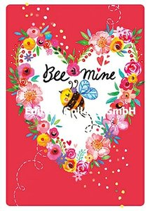 Rita Berman Postcard | Bee mine