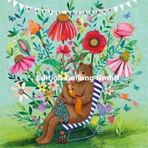 Mila Marquis Postcard | Happy Bearsday (Bär)