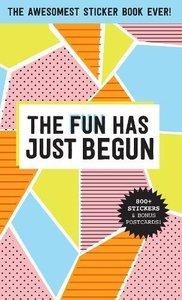 Pipsticks Fun Has Just Begun Sticker Book