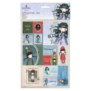 Gorjuss A5 Postage Stamps (26pcs) - Santoro