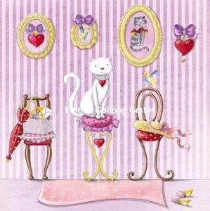Nina Chen Postcard | Cat