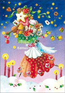 Nina Chen Double Card | Angel with gifts