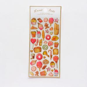 Puffy Epoxy Stickers | Lunar Tears Yummy Foods