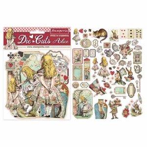 Stamperia Alice Die Cuts