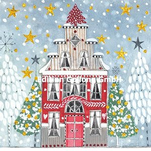 Kerstin Heß Postcard Christmas | Christmas House