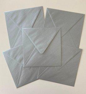 Set of 5 Envelopes 145x145 - Silver