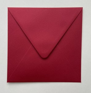 Envelope 145x145 - Rosso