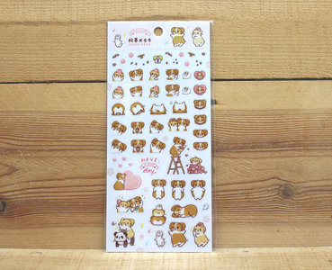 Corgi Dog Kaka Pocket Sticker (NICE DAY)