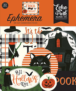 Echo Park Trick or Treat Ephemera (TT186024)