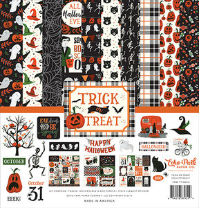 Echo Park Trick or Treat 12x12 Inch Collection Kit (TT186016)