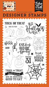 Echo Park All Hallows Eve Clear Stamps (TT186042)
