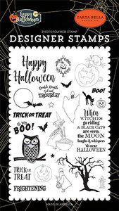 Carta Bella Toil & Trouble Clear Stamps (CBHAL104042)