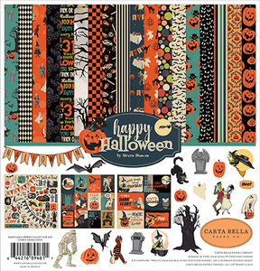 Carta Bella Happy Halloween 12x12 Inch Collection Kit (CBHAL104016)