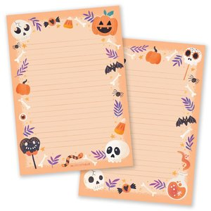 A5 Halloween Notepad - Double Sided