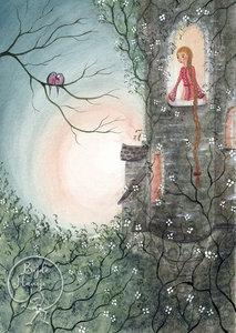 Postcard | Rapunzel