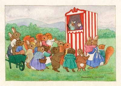 Postcard Margaret Tempest | The Punch & Judy Show