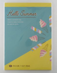 Letter Paper Mix | Hello Summer Blue