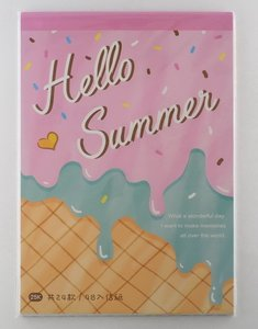 Letter Paper Mix | Hello Summer Pink