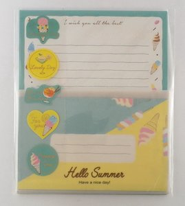 Letter Set | Hello Summer Blue