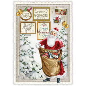 Postcard Edition Tausendschoen Christmas - Santa