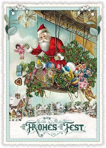 Postcard Edition Tausendschoen Christmas - Frohes Fest