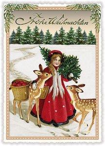 Postcard Edition Tausendschoen Christmas - Frohe Weihnachten