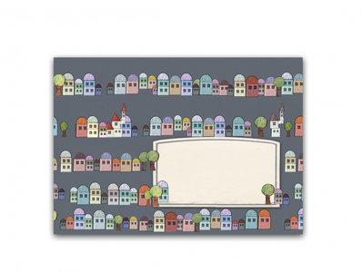 10 x Envelope TikiOno | Houses