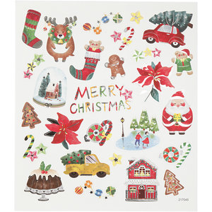 Seal Sticker with Silver Foil | All for Christmas