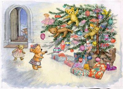 Postcard Molly Brett | The Jumble Bears
