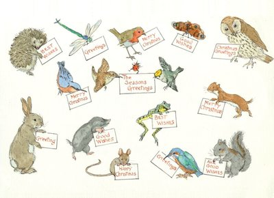 Postcard Molly Brett | Greetings Animals